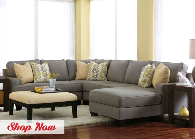 Chamberly Allow Right Arm Facing Chaise End Sectional