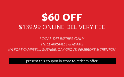 $60 Off Delivery