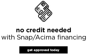 No Credit Needed Financing
