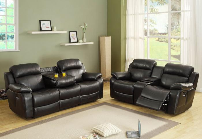 Special Brown Loveseat Recliner ,InStore Products