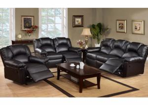 Special Leather Reclining Sofa