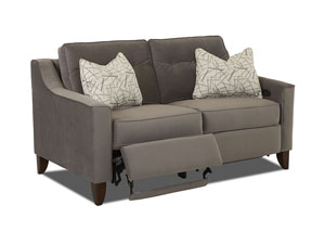 Audrina Power Hybrid Loveseat