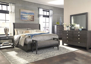Music City King Bed
