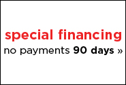 Special Financing Through Mariner - 90 Days No Financing