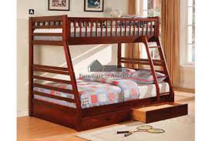 Twin/Full BunkBed w/ understorage ,Furniture of America