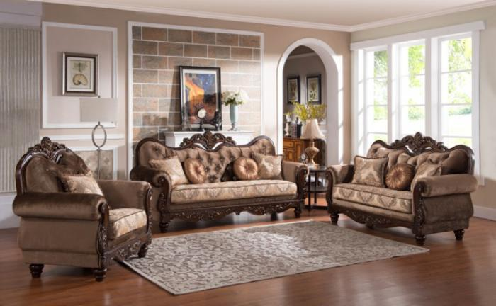 ZOYA Sofa & Loveseat,Cosmos Furniture
