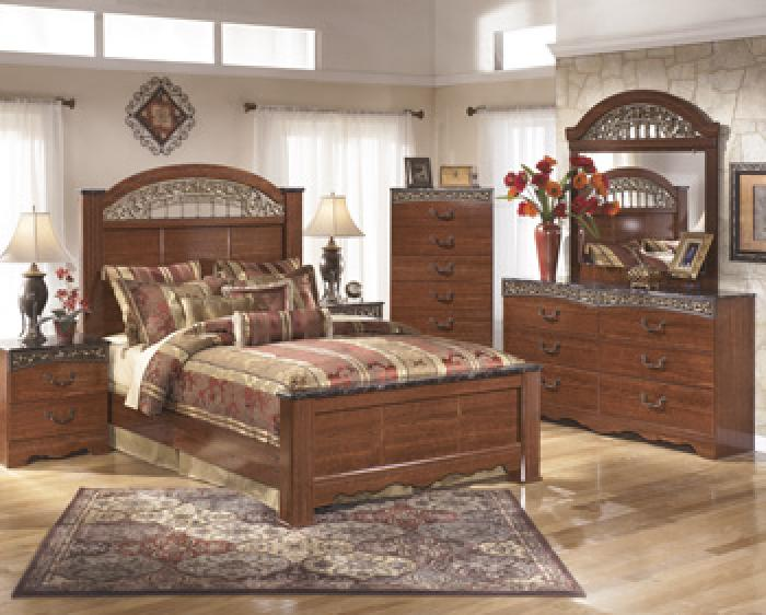 Fairbrooks Estate Complete Bedroom Set Package Deal,Ashley Signature