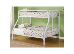 Image for Twin/Full Metal Bunkbed