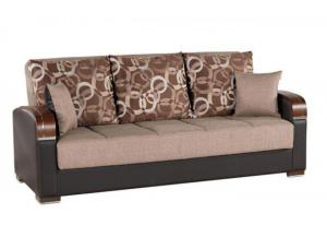 Mobimax Brown Convertible Sofa Bed by Casamode