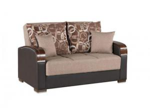 Image for Mobimax Brown Loveseat by Casamode