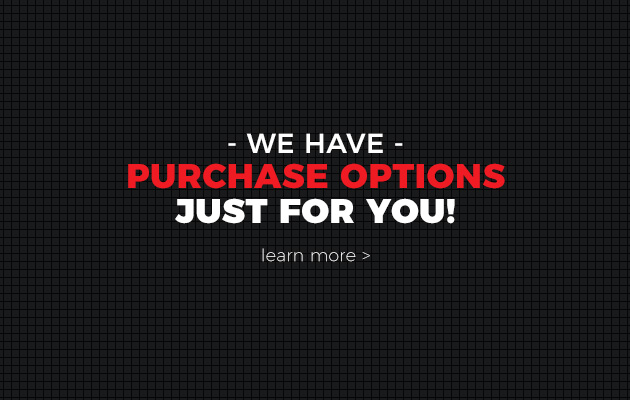 We Have Purchase Options - Learn More