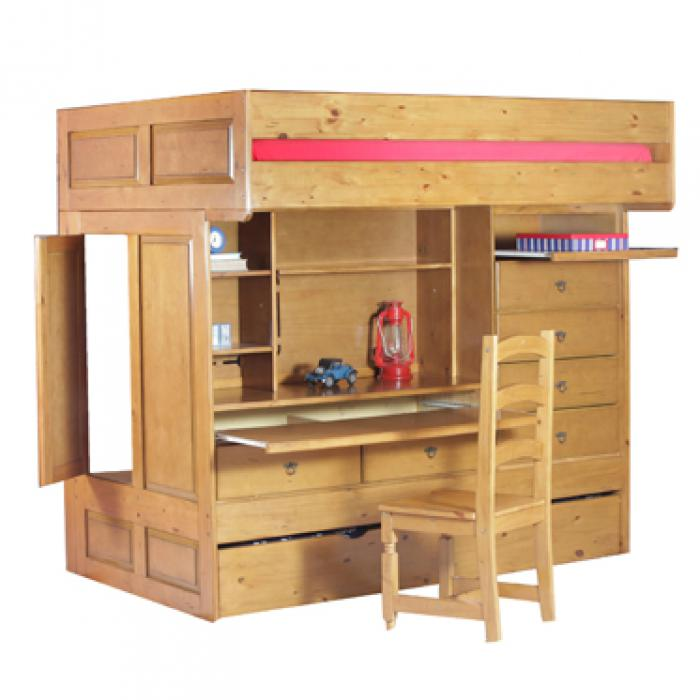 Wyatt Full/Twin Loft Bed,Powell