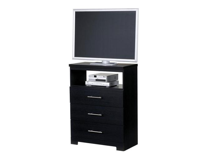 Brooklyn 3-Drawer Media Console,Furniture Exchange