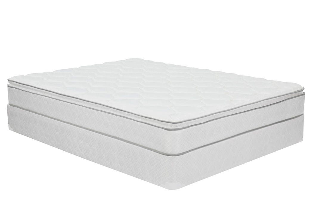 Carmen Pillow Top Full Mattress Set,Furniture Expo Showcase