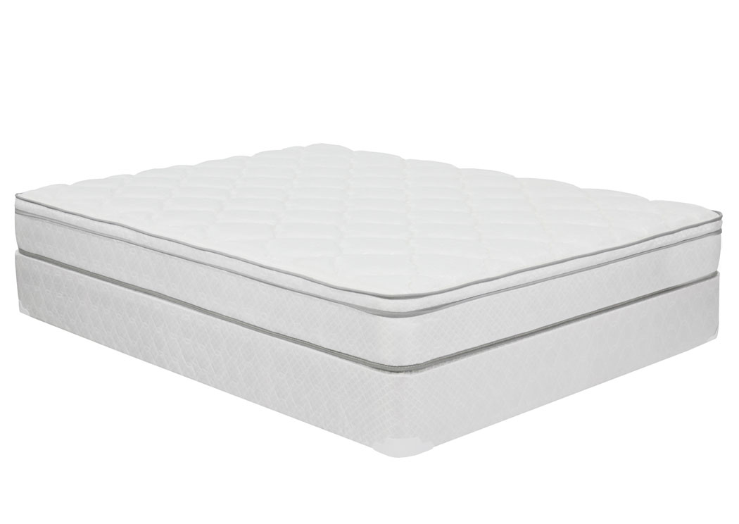 Indigo Euro Top King Mattress Set,Furniture Expo Showcase