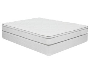 Indigo Euro Top Queen Mattress Set