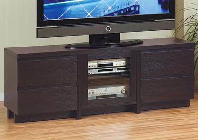 TV Stand in Red Cocoa