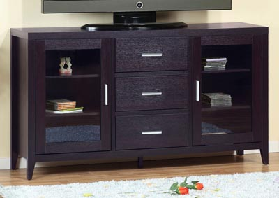 TV Stand/ Buffet in Red Cocoa