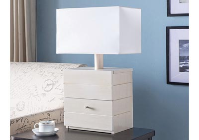 Table Lamp in Ivory