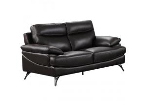 Best Quality Upholstered Loveseat Chocolate