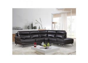 Best Quality  Sectional 3Pc Chocolate
