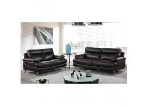 Best Quality Sofa And Loveseat 2Pc Set Chocolate