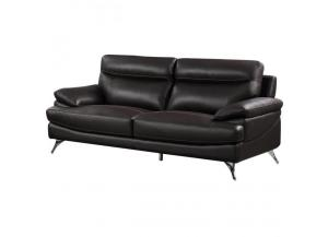 Best Quality Upholstered Sofa Chocolate
