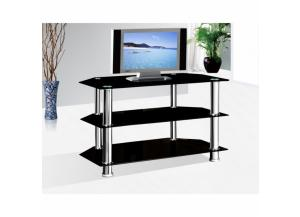 TV Stand  Metal w/Glass