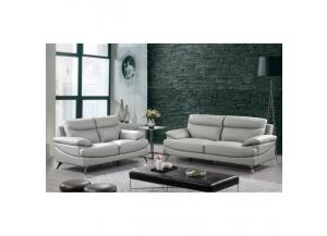 Best Quality Sofa And Loveseat 2Pc Set Grey