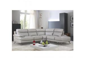 Best Quality  Sectional 3Pc Grey