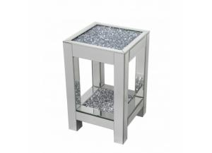 Sparkling Crystal End Table