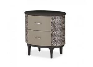 21 Cosmopolitan Taupe Oval Bachelor's Chest
