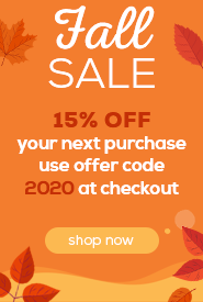 Fall Sale - 15% OFF
