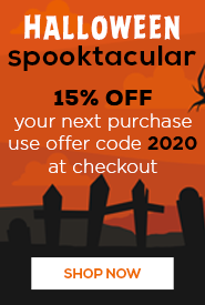 Halloween Sale - 15% OFF
