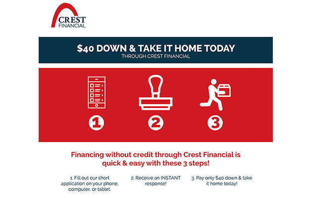 Crest Financial Available at Furniture Gallery