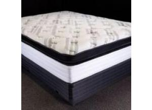 Obsidian Box Top Queen Mattress and Low Profile Foundation