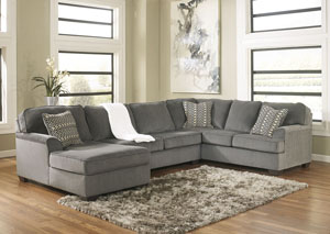 Loric Smoke 3-Piece Sectional