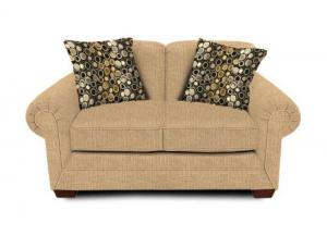Faith Chamois Loveseat