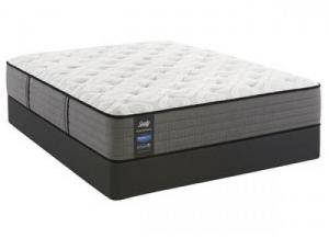 Lavina Cushion Firm Queen Mattress w/ Foundation