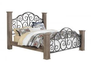 Timber Creek King Poster Bed