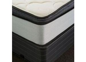 Coral  Eurotop Twin Mattress and Low Profile Foundation