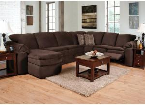 Romance Java 5 Piece Sectional