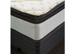 Vermillion Twin Pillowtop Mattress and Foundation