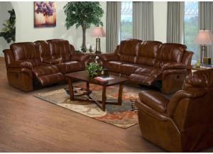 Cabo Brown Reclining Sofa & Loveseat