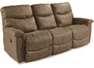 James Bonded Leather Reclining Sofa