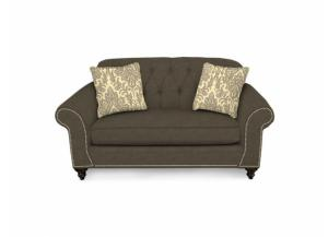 Caprice Grey Loveseat