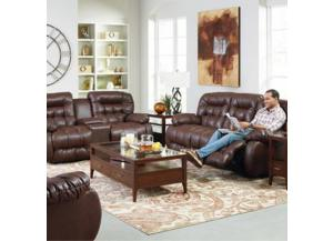 Plusher Double Reclining Console Sofa