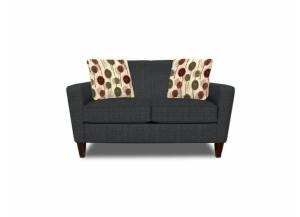 Sagitarius Grey Loveseat