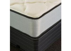 Obsidian Plush Twin Mattress and Low Profile Foundation