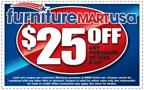 Furniture Mart USA Coupon
